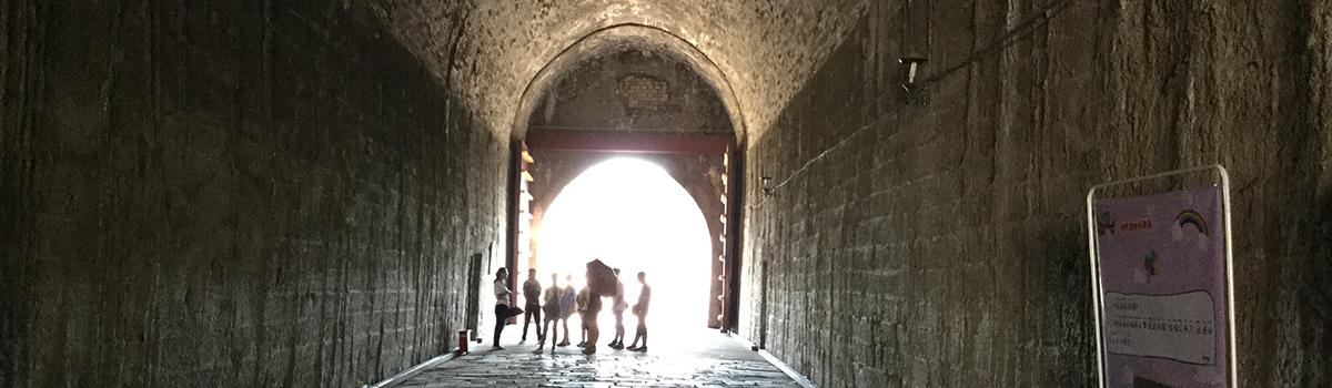 中華門の内側